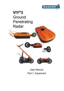Benutzerhandbuch VIY GPR Transient Technologies