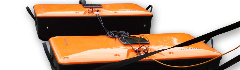 Suche nach unterirdischen Konstruktionen (unterirdische Gänge, Abwasserkanäle) mit VIY3 Georadaren